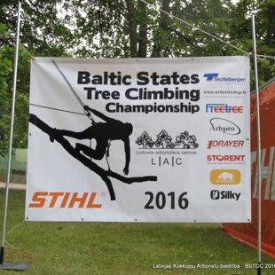 Baltijas valstu kokā kāpšanas čempionāts 2016 Lietuvā